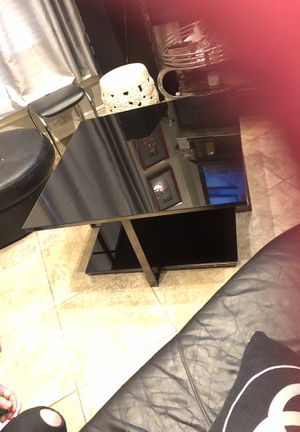 Black square/ modern Glass coffee table, Please let me know if you would like more pictures… for Sale in Richardson, TX