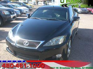 2010 Lexus IS 250C for Sale in Mesa, AZ