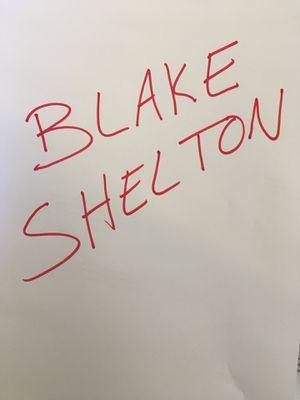 Blake Shelton Ticket for Sale in Oceano, CA