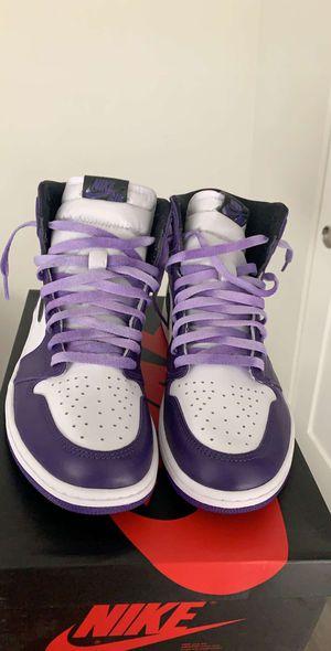 Air Jordan Retro High OG Court Purple 2.0 for Sale in Malibu, CA