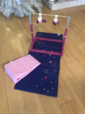 American Girl Gymnastics Set for Sale in Pawtucket, RI