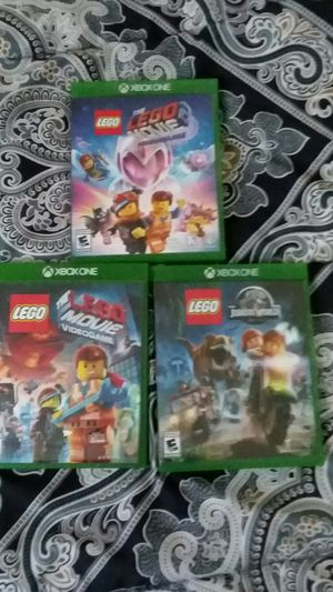 LEGO GAMES XBOX ONE for Sale in Seymour, CT