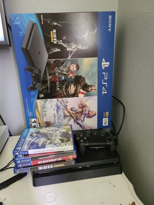 Ps4 1tb 4 games for Sale in Tacoma, WA