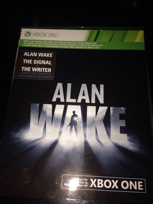 Alan wake XBOX ONE for Sale in Houston, TX