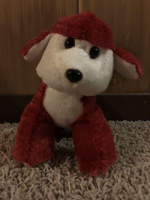 Red stuffed animal dog for Sale in Westchester, IL