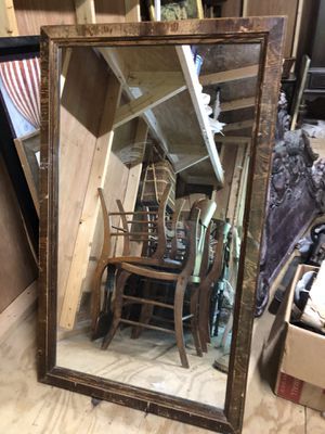 "46"" h x 28"" w antique mirror for Sale in Villa Rica, GA"