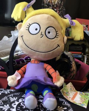 Nickelodeon Rugrats Angelica plush doll for Sale in Los Angeles, CA