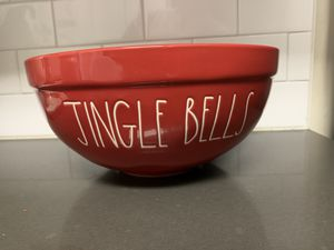 Jingle Bells Medium Bowl for Sale in West Covina, CA