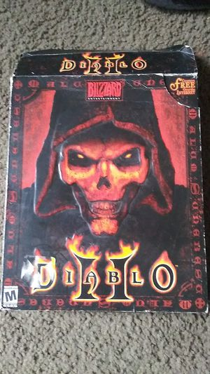PC game Diablo 2 for Sale in San Antonio, TX