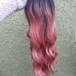 Long Pink Ombre Wig for Sale in La Puente, CA
