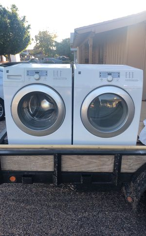 Ken more washer and dryer works well for Sale in Phoenix, AZ