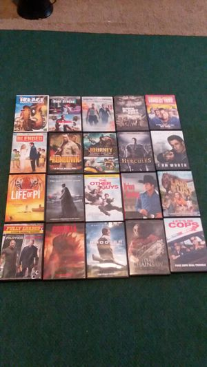 20 movie's for $55 for Sale in Greenville, NC