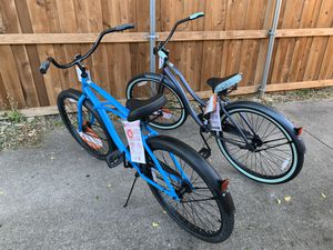 "His and hers 26"" Cranbrook Cruisers bikes 75 each for Sale in Dallas, TX"
