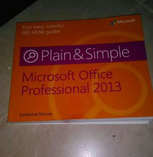 Microsoft office book for Sale in Palm Beach, FL