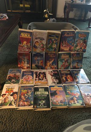 Disney VHS Tapes and more for Sale in Newport News, VA