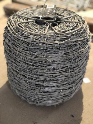 12.5 ga. 4 Pt. Barbed Wire, Brand new $75 obo for Sale in Tacoma, WA