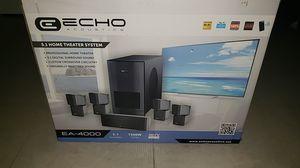 Echo 5.1 surround sound 1500 watt system! for Sale in Davie, FL