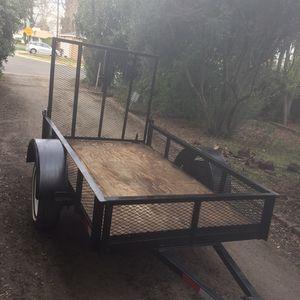 4.5x8 Utility trailer for Sale in Stockton, CA
