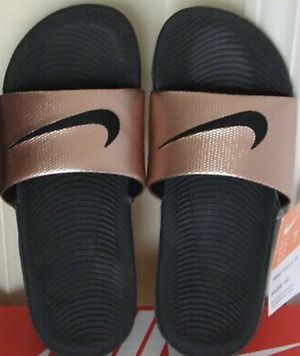 Nike Metallic Slides for Sale in Fort Worth, TX