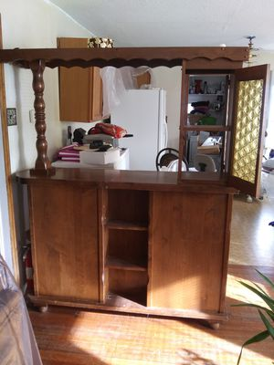 Antique Bar, All Solid Wood for Sale in Joplin, MO