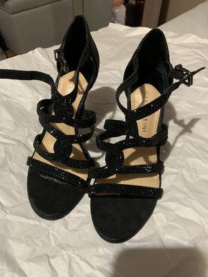 Party black heels size 6 for Sale in Nashville, TN