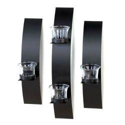 Black Wall Candleholder Set for Sale in Locust Grove,  GA