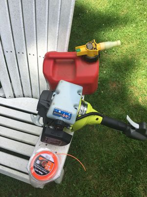 Ryobi Gas Weed Wacker and Gas Tank for Sale in Norwell, MA