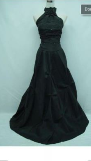 prom is here plus size /22 black gown evening for Sale in Gulfport, MS