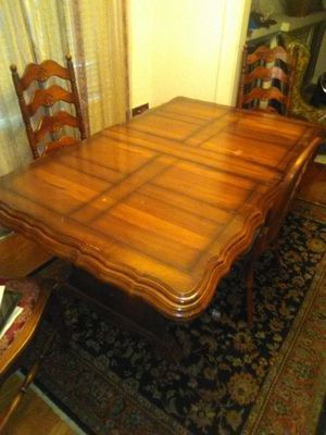 Oak dining table and chairs for Sale in Kansas City, MO