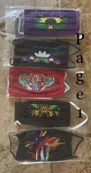 Embroidered Face Masks for Sale in Santa Maria, CA