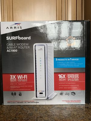 Arris Surfboard Modem for Sale in Vancouver, WA