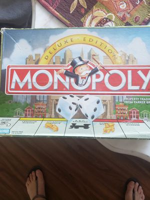 Monopoly deluxe for Sale in Pompano Beach, FL