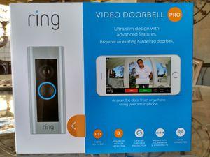 Ring doorbell pro for Sale in Riverside, CA