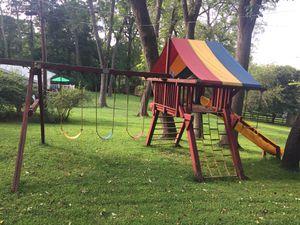 Wooden swing set for Sale in Ellicott City, MD