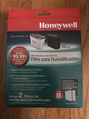 Honeywell humidifier filter 2 in pack for Sale in Lincolnwood, IL