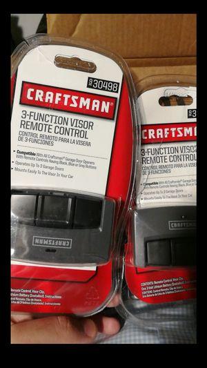 Craftsman door opener remote control for Sale in North Miami Beach, FL