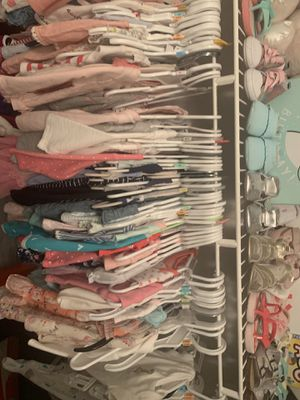 Baby clothes for sale use 3-12 months 20 outfits for 140.00 for Sale in Tamarac, FL