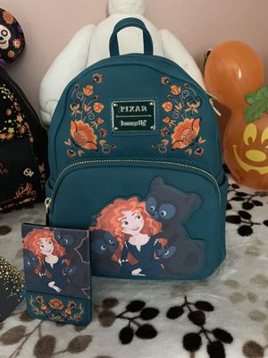 NWT Disney Loungefly Brave backpack and wallet for Sale in Pittsburg, CA