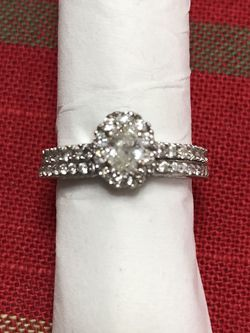 Engagement Ring/Wedding Band 1C+ TW for Sale in Aurora,  CO