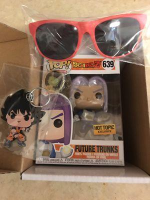 Future trunks hot topic exclusive capsule box Funko pop for Sale in Dallas, TX