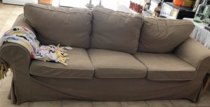 Fabric covered sofa for Sale in East Stroudsburg, PA