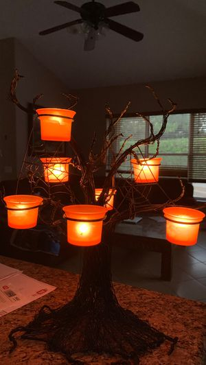 Halloween decoration candle holder. for Sale in FL, US