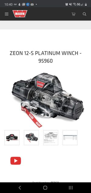 WARN 12S RECOVERY WINCH for Sale in Fort Lauderdale, FL
