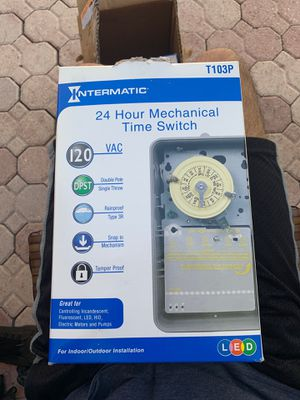 Intermatic 24 hour mechanical time switch for Sale in Miami, FL
