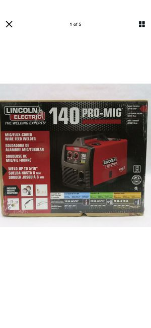 Lincoln welder 140 new in box for Sale in West New York, NJ