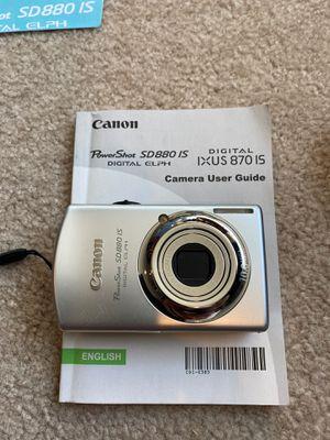 Cannon SD880 IS camera for Sale in Napa, CA
