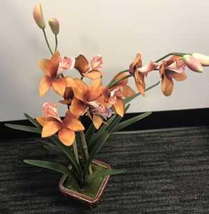 """22"""" H Artificial Ceramic Potted Plant Orchid for Sale in Arlington, VA"""