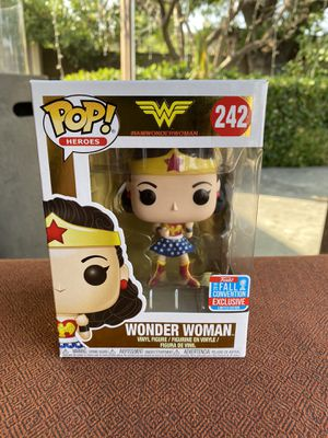 Funko Pop Wonder Woman DC Comics 2018 Fall Convention NYCC Exclusive 242 for Sale in Los Angeles, CA