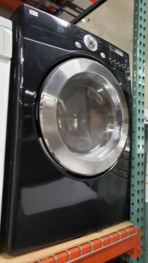 LG BLACK GLOSSY GAS DRYER for Sale in Covina, CA