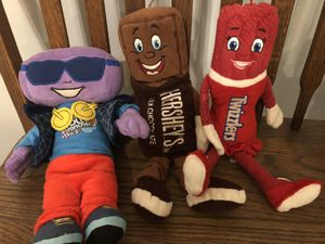 Hershey Park stuffed animals for Sale in Princeton, NJ